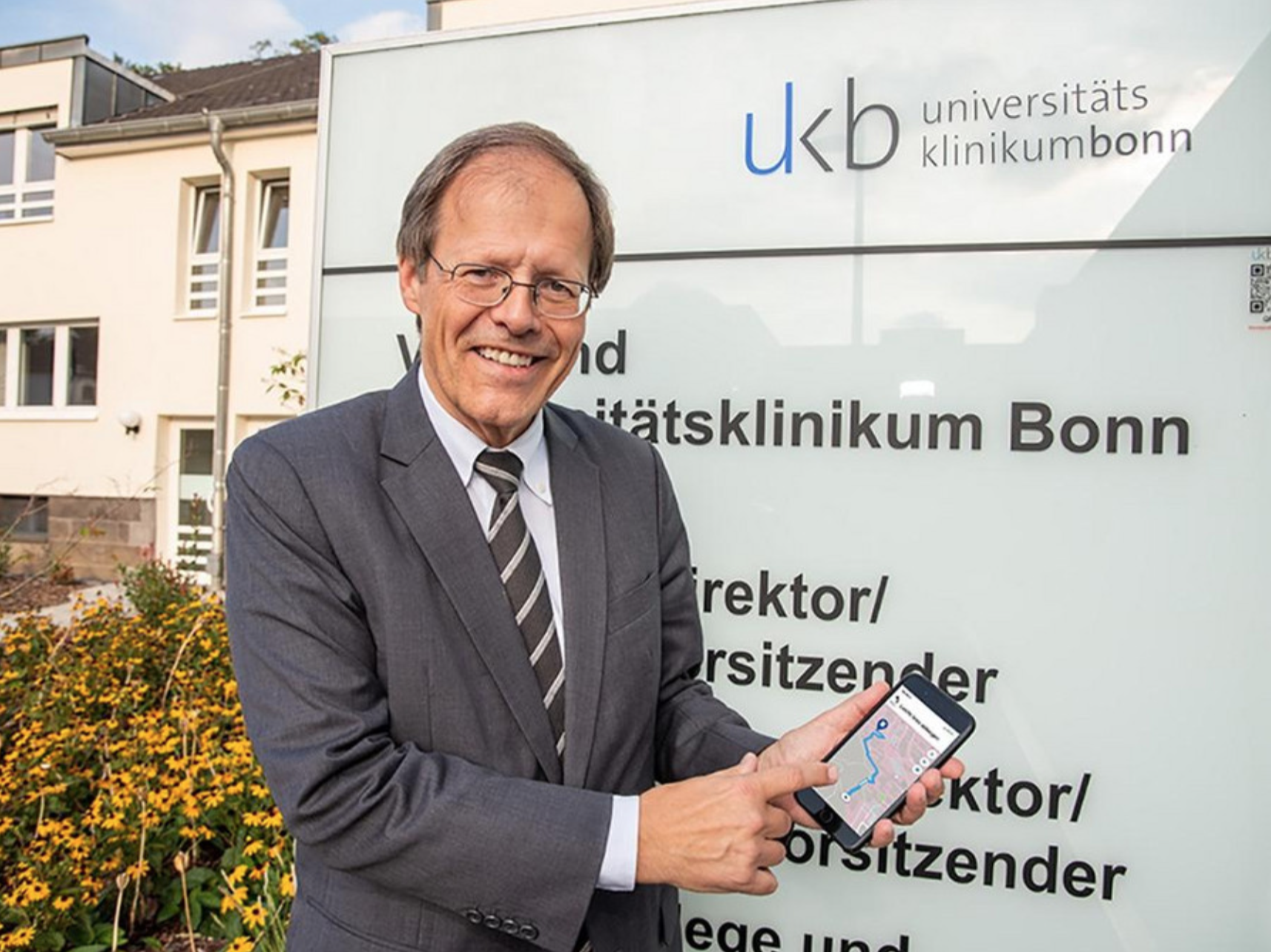 App für UK Bonn - Testimonial