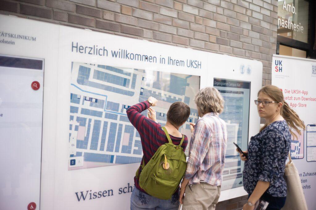 UKSH App, Universitätsklinikum Schleswig-Holstein, Navigation, Krankenhaus-App, Klinik App