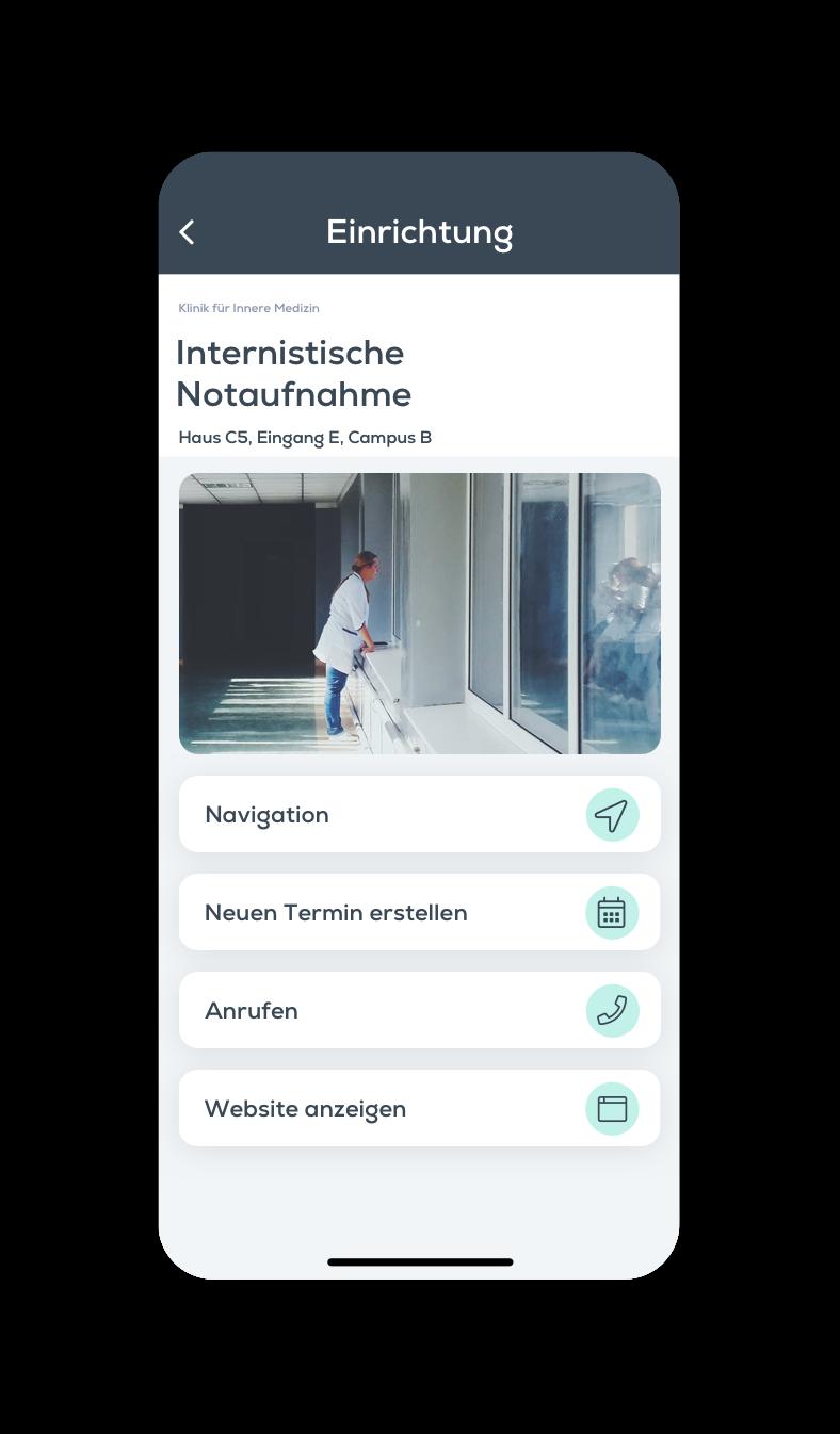 Krankenhaus-App, Klinik App, Neuigkeit, Veranstaltung