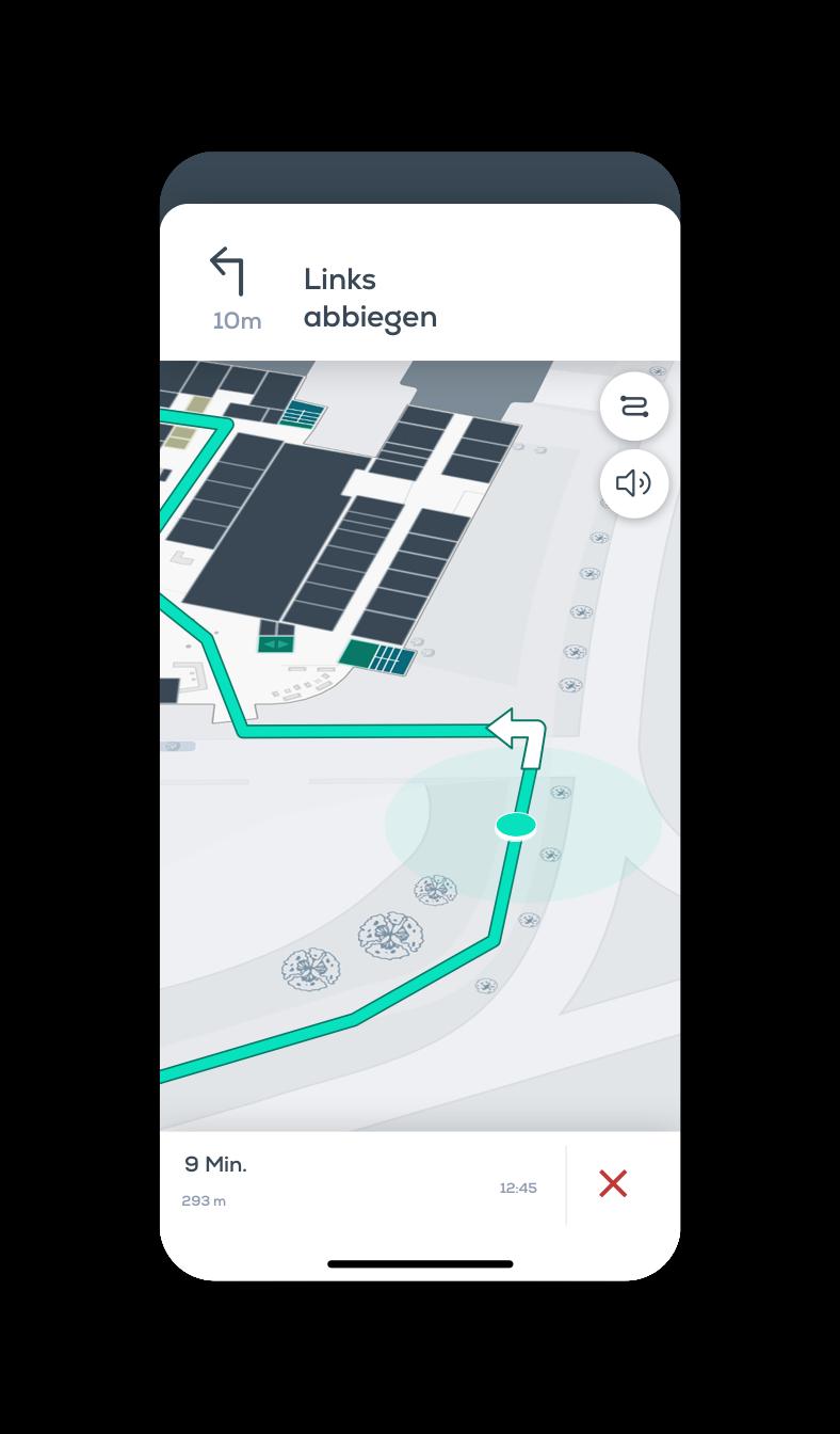 hospital app, indoor, outdoor, navigation